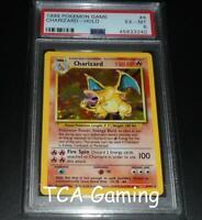 PSA 6 EX-MINT Charizard 4/102 Base Set HOLO RARE Pokemon Card