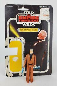 1980 Kenner Star Wars Ben Obi Wan Kenobi Action Figure Card Back 31 Complete