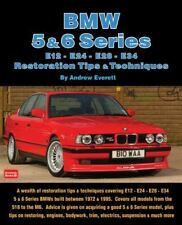 Bmw Restoration Manual Tips Book Techniques 5 6-Series E28 E34 E12 E24 72-95