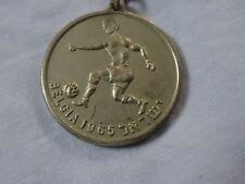 SOCCER FOOTBALL ISRAEL & Belgium WORLD CUP MATCH METAL KEYCHAIN KEY RING 1965