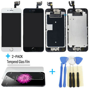 For iPhone 6 6S LCD Display Touch Screen Digitizer Replacement Button / Camera