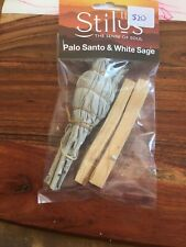 Palo Santo And White Sage Smudge Cleansing