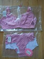 CAKE MATERNITY NURSING BRA & PANTS SET STRAWBERRY SHORTCAKE 12DD NEW