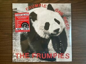 "THE FRUMPIES FRUMPIES ONE PIECE VINYL LP & 7"" NEW SEALED COLOR VINYL RSD 2020"