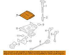VW VOLKSWAGEN OEM Eos-ECM PCM ECU Engine Control Module Computer 1Q0907115D