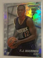 2014-15 Panini Prizm Basketball Silver TJ WARREN RC #43 Pacers Rookie HOT Clean