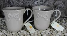 Eine Teetasse * Kaffetasse* Pott* Becher*  von *Clayre & Eef * in beige / braun