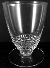 Vintage Duncan & Miller Clear Crystal Tear Drop Pattern 3oz Ftd. Whiskey Tumbler