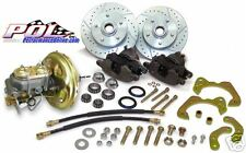 1966-68 Chevy Belair, Impala, Biscayne Front Power Disc Brake Conversion Kit