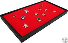 144 Red Ring Jewelry Display Case Orgnizer Insert New