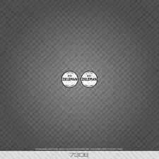 07308 Zieleman Bicycle Head Badge Stickers - Decals - Transfer