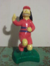 Otto Man Figurine The Simpsons Bart's School Bus Driver Burger King Soccer Team