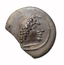 Southern Arabia Himyar 80-100 Ad Silver Ar Unit Mdn Byn Yhqbd Ancient Coin