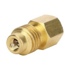 R134A Car Air Conditioner 1/4SAE Female to 1/2ACME Male Adapter Connector