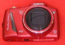 Canon PowerShot SX150 IS 14.1MP, Zoom Óptico: 12x, Temporizador Cámara Digital-Rojo