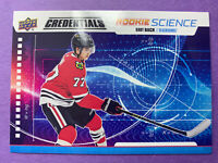 2019-20 Upper Deck Credentials Rookie Science #RS-26 Kirby Dach Chicago RC