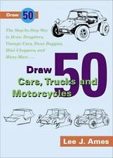 Draw 50 Cars, Trucks and Motorcycles-ExLibrary