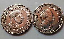 A  Rare  5 Rupee Commemorate Coin 2 nos  On Pt. Jawaharlal Nehru & Indira Gandhi