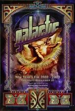 Galactic POSTER Mixmaster Mike Vinyl Triple Thread DJs Fillmore Concert BGP295