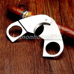Portable Cigar Scissors Cutter Smoking Accessories Stainless Wholesale 73x62mm