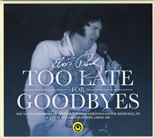 DOUBLE CD IMPORT ELVIS PRESLEY- TOO LATE FOR GOODBYES - ON TOUR MAI 1977