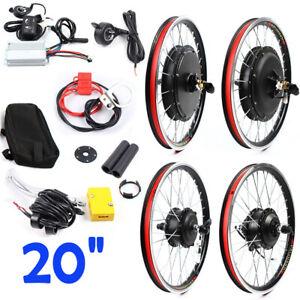 Front/Rear Wheel Conversion Kit 36V 250W /48V 1000W for 20 inch bike USA