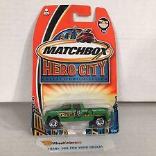 GMC Terradyne * Green * Matchbox Hero City * G7