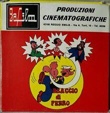 Pellicola Ga Film Super 8 Colori Braccio di Ferro Il pirata Arrabbiato 514