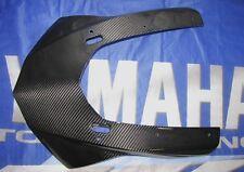 Para yamaha rn32 r1 2015 de carbono real máscara bisel con Front