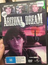 Arizona Dream ex-rental region 4 DVD (1993 Johnny Depp movie) rare
