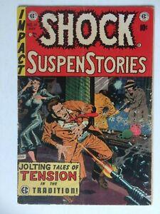 Shock Suspenstories #14, UNRESTORED, nice