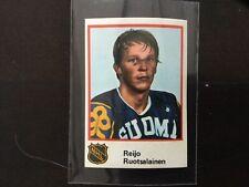 1982 Finnish Semic World Championships Reijo Ruotsalainen  - Rare