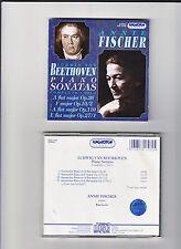 CD-ANNIE FISCHER-BEETHOVEN PIANO SONATAS VOL 1, HUNGARATON 1996-FINEST SET-FN
