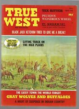 True West April 1972 Black Jack Ketchum Gray Wolves and Buffalos Tex Ritter