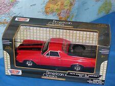 Chevrolet el camino SS 396 pick-up 1970 Rot coche modelo 1 24 / Motormax