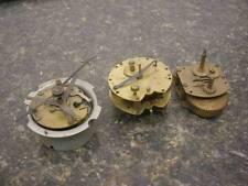 Lot of 3 German Seth Thomas / Kienzle Rim Wind Alarm Clock Junghans Welby  E370