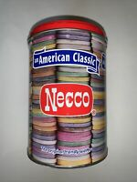 Vtg Necco Tin Metal Candy Container An American Classic Valentine,Easter Decor