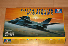 1:72 ITALERI 189 F-117A STEALTH NIGHTHAWK in OVP TOP 1990 1st. edition