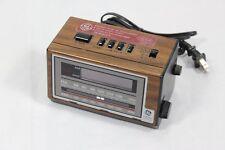 Vintage General Electric GE Alarm Clock Radio 7-4601A AM/FM Battery Backup
