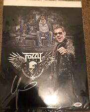 Chris Jericho Signed 11x14 Photo Edit WWE Autograph PSA DNA COA  AEW Fozzy