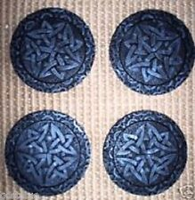 Set of 4 plastic celtic coaster tile molds