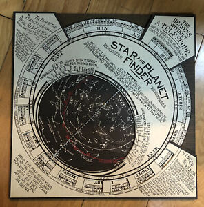 Saga Industries, Connecticut, Reproduction Vintage Star and Planet Finder w/box