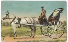 Quebec - A Modern Caleche PPC, Unposted, By Tuck, c 1910's, Pony & Trap