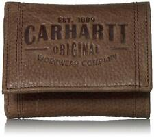 W CARHARTT Passcase Wallet 4-3//8 in Leather 61-2234-20 Brown