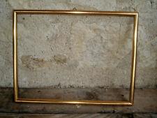 Cadre en bois doré à l'or 31 X 23,6 cm Feuillure 29,5 X 22,5 cm