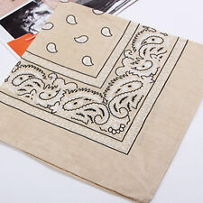 New Paisley Bandana Head wrap Cotton Head Wrap Neck Scarf Wristband Handkerchief