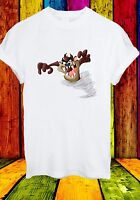 The Tasmanian Devil Taz Cartoon Movie Animal Funny Men Women Unisex T-shirt 642