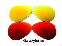 Galaxy Replacement Lenses For Ray Ban RB3025 Aviator Red&Gold 58mm Polarized