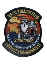 Us Army Tomcatter Wildcat 05-06 Felix The Cat Naval Aviator Wings Patch Écusson
