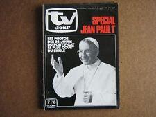 TV JOUR 78/40 (4/10/78) LEPAPE JEAN PAUL 1ER ZARAI (2)